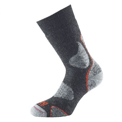 1000 Mile 3 Season Performance Single Layer Socks-Brown