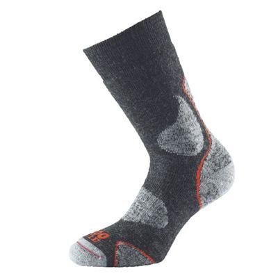 1000 Mile 3 Season Performance Single Layer Socks-Brown