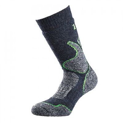 1000 Mile 4 Season Performance Single Layer Socks-Grey