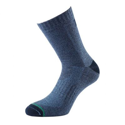 1000 Mile All Terrain Ladies Walking Socks Blue