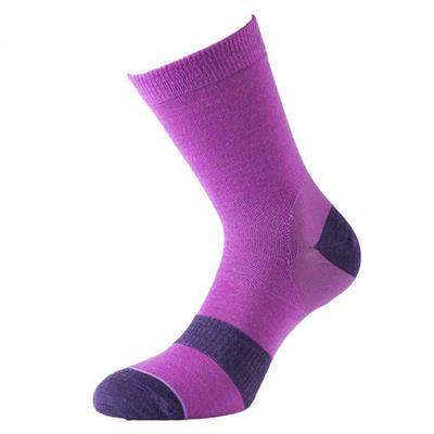 1000 Mile Approach Ladies Walking Socks-Pink