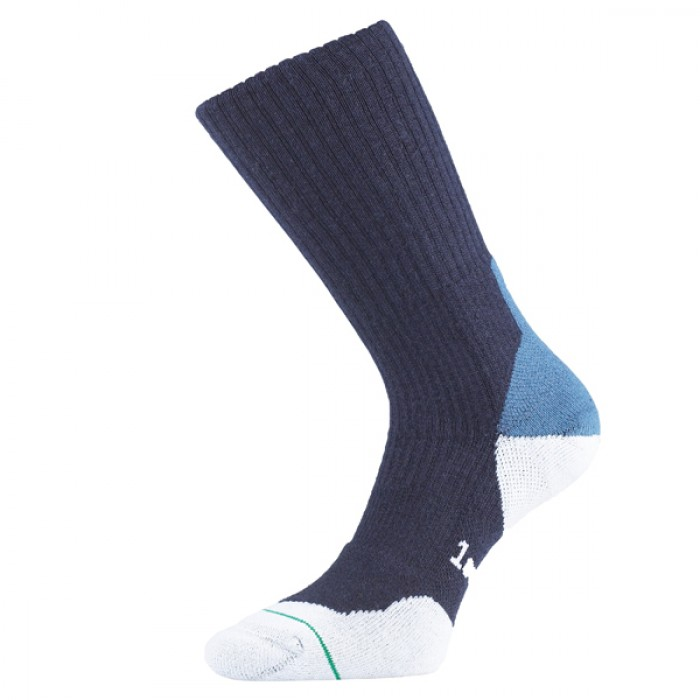 Image of 1000 Mile Fusion Mens Walking Socks - Blue, UK 12 - 14