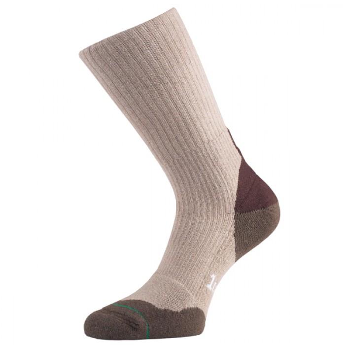 Image of 1000 Mile Fusion Mens Walking Socks - Natural, UK 12 - 14