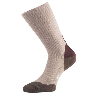 1000 Mile Fusion Double Layer Walking Socks-Natural