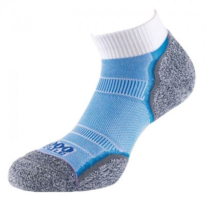 1000 Mile Nilit Breeze Double Layer Anklet Running Socks