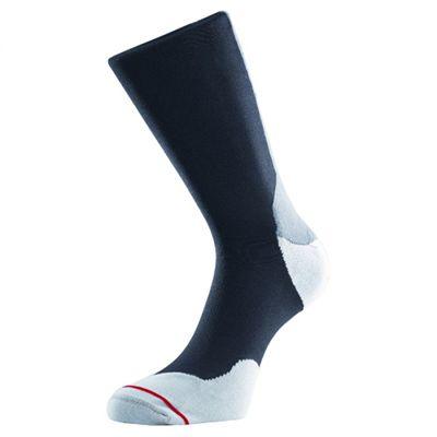1000 Mile Tactel Fusion Double Layer Socks-Black/Grey