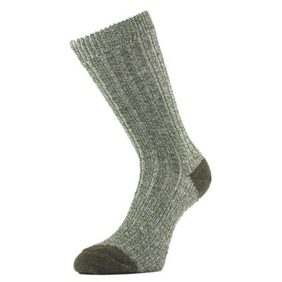 1000 Mile Ultimate Double Layer Heavyweight Walking Socks-Green