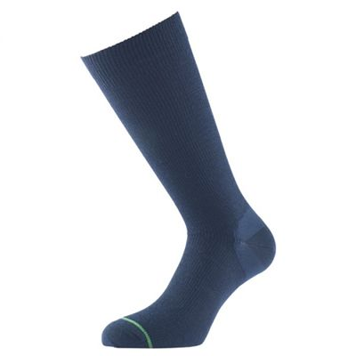 1000 Mile Ultimate Double Lightweight Layer Walking Socks-Blue
