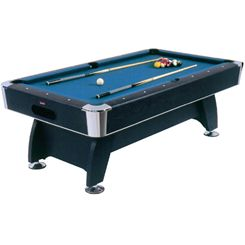 BCE 7Ft Deluxe Black Cat Pool Table