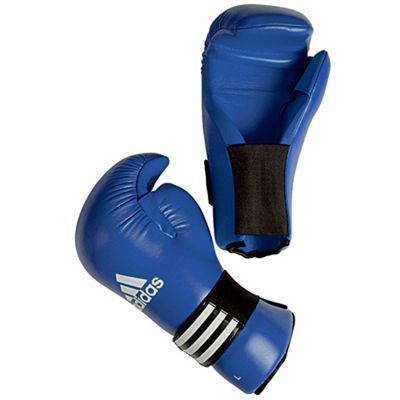 Adidas Semi Contact Gloves - Blue