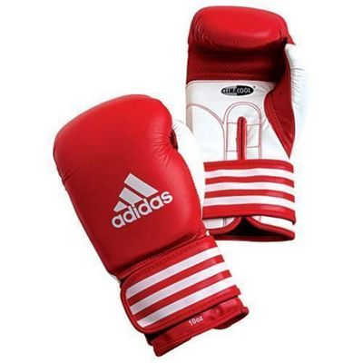 Adidas ULTIMA Competition Boxing Gloves - Red