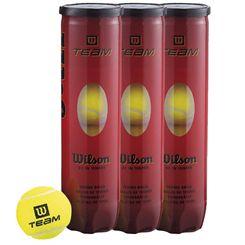 Wilson Team W Tennis Balls - 1 dozen