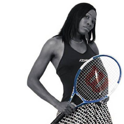 Racket used by Venus Williams