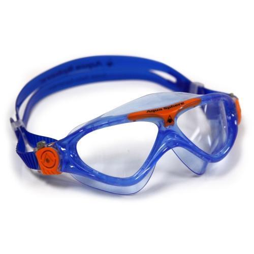 Aqua Sphere Vista Junior Goggles  Blue  Orange