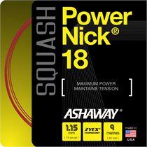 Ashaway PowerNick 18 Squash String - 9m Reel