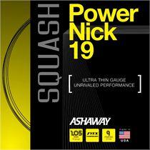 Ashaway PowerNick 19 Squash String - 9m set