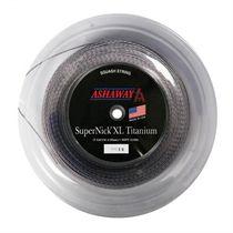 Ashaway Supernick XL Titanium Squash String - 110m reel