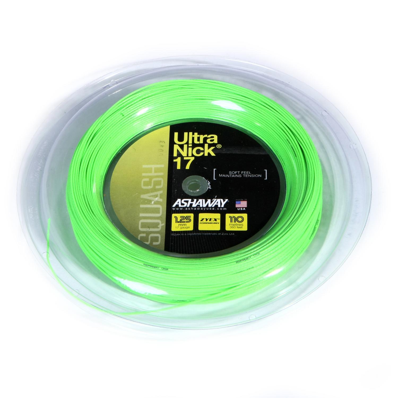 Ashaway UltraNick 17 Squash String – 110m reel