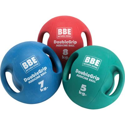 BBE 10 kg Double Grip Medicine Ball
