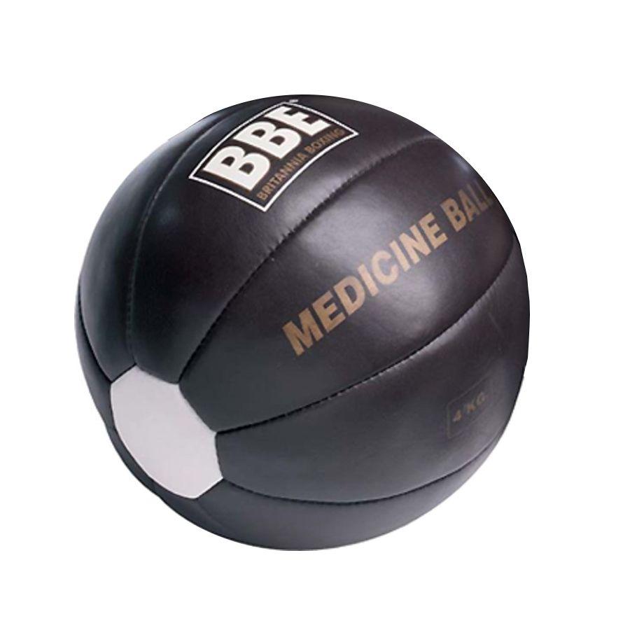 bbe 4kg leather medicine ball   sweatband