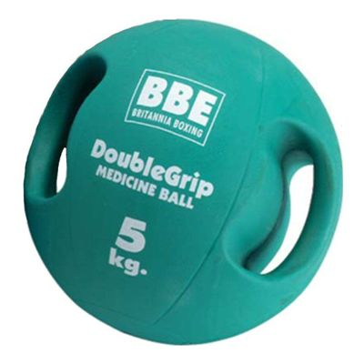 BBE 5kg Double Grip Medicine Ball