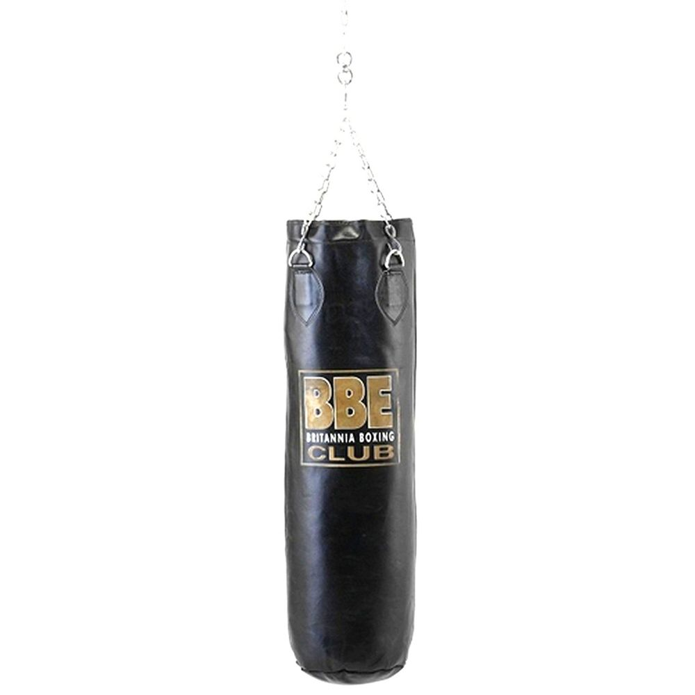 BBE Club Leather Punchbag with Chains