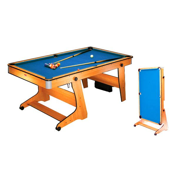 Bce 6ft folding pool table fp 6 for Table 6 to 20