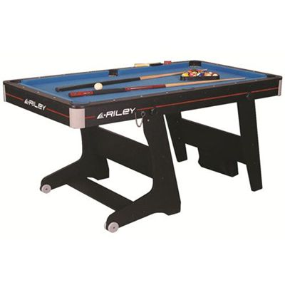 Riley vertical folding pool table 5 foot for Html vertical table