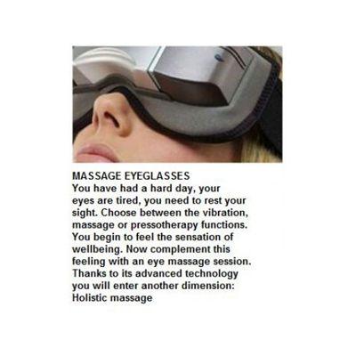 M1000 Jet Set Massage Eyeglasses