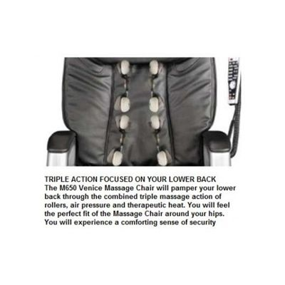 M650 Venice Triple Action Focused on Your Lower Back