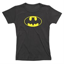 Batgirl Logo Ladies T-Shirt