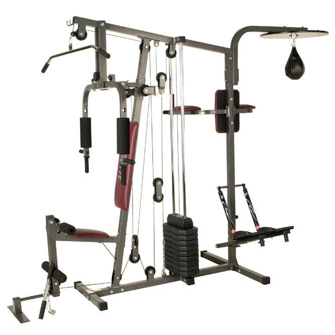 V Fit Herculean Supa Trainer Home Multi Gym Sweatband Com