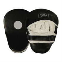 Boxing Mad Curved Leather Hook & Jab Pads