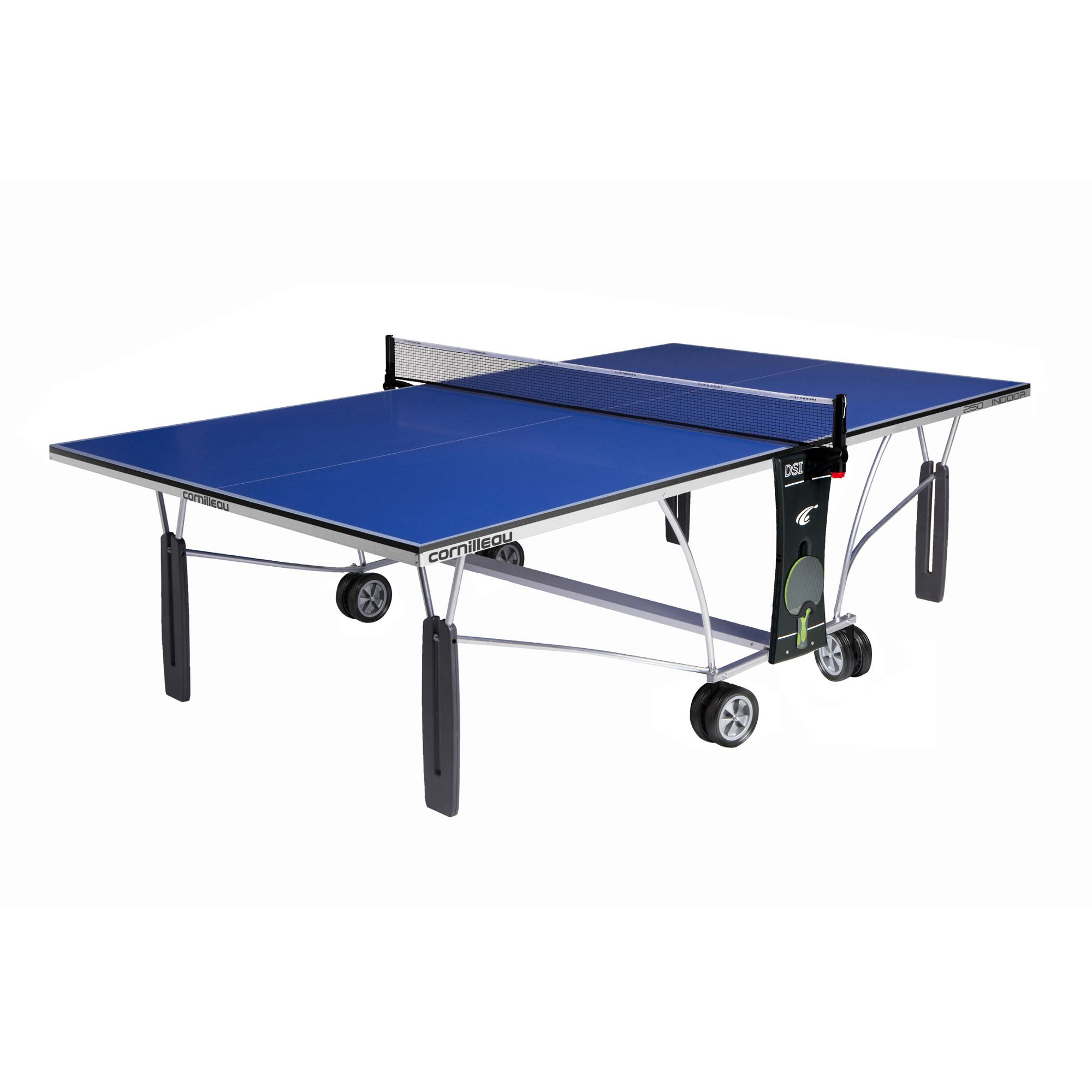 cornilleau indoor sport 250 rollaway table tennis table. Black Bedroom Furniture Sets. Home Design Ideas
