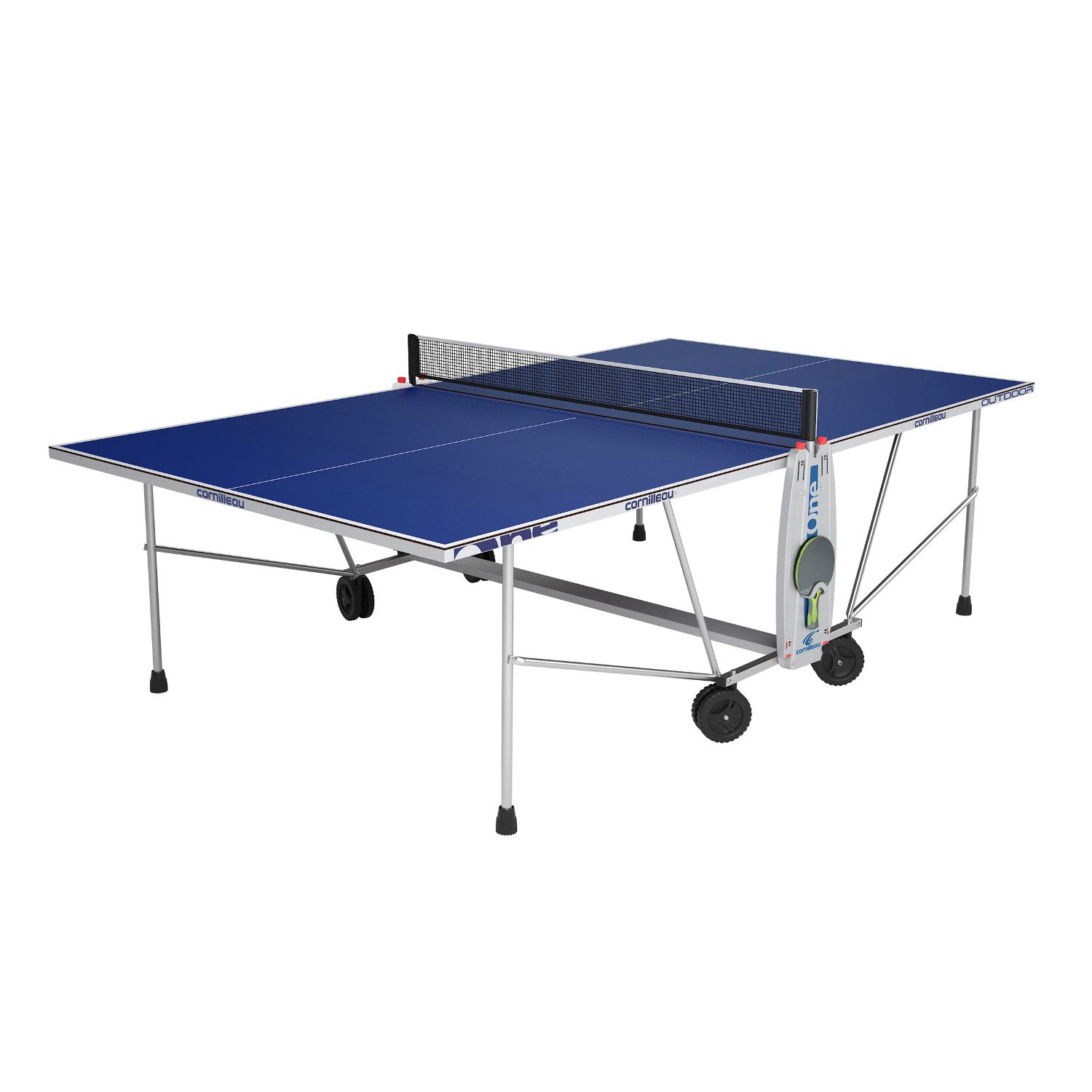 cornilleau outdoor sport one rollaway table tennis table. Black Bedroom Furniture Sets. Home Design Ideas