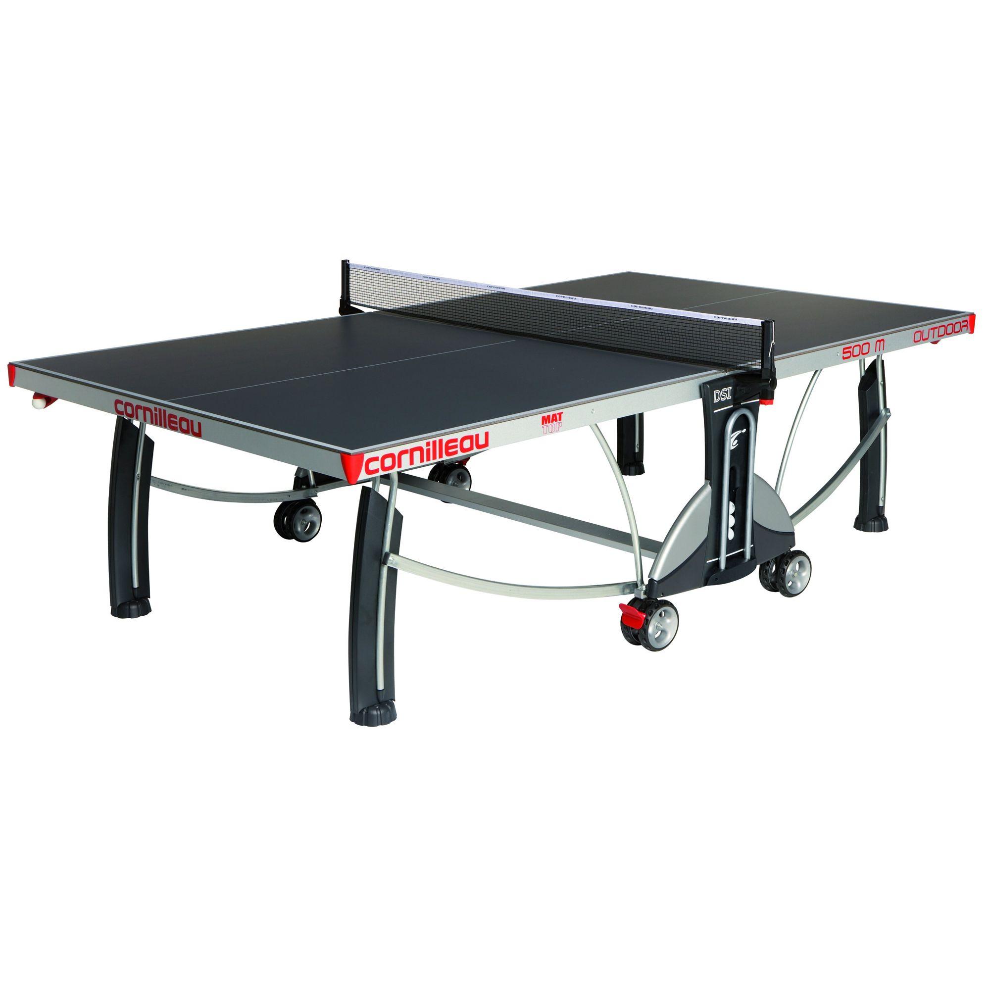 Cornilleau Sport 500M Rollaway 7mm Outdoor Table Tennis Table