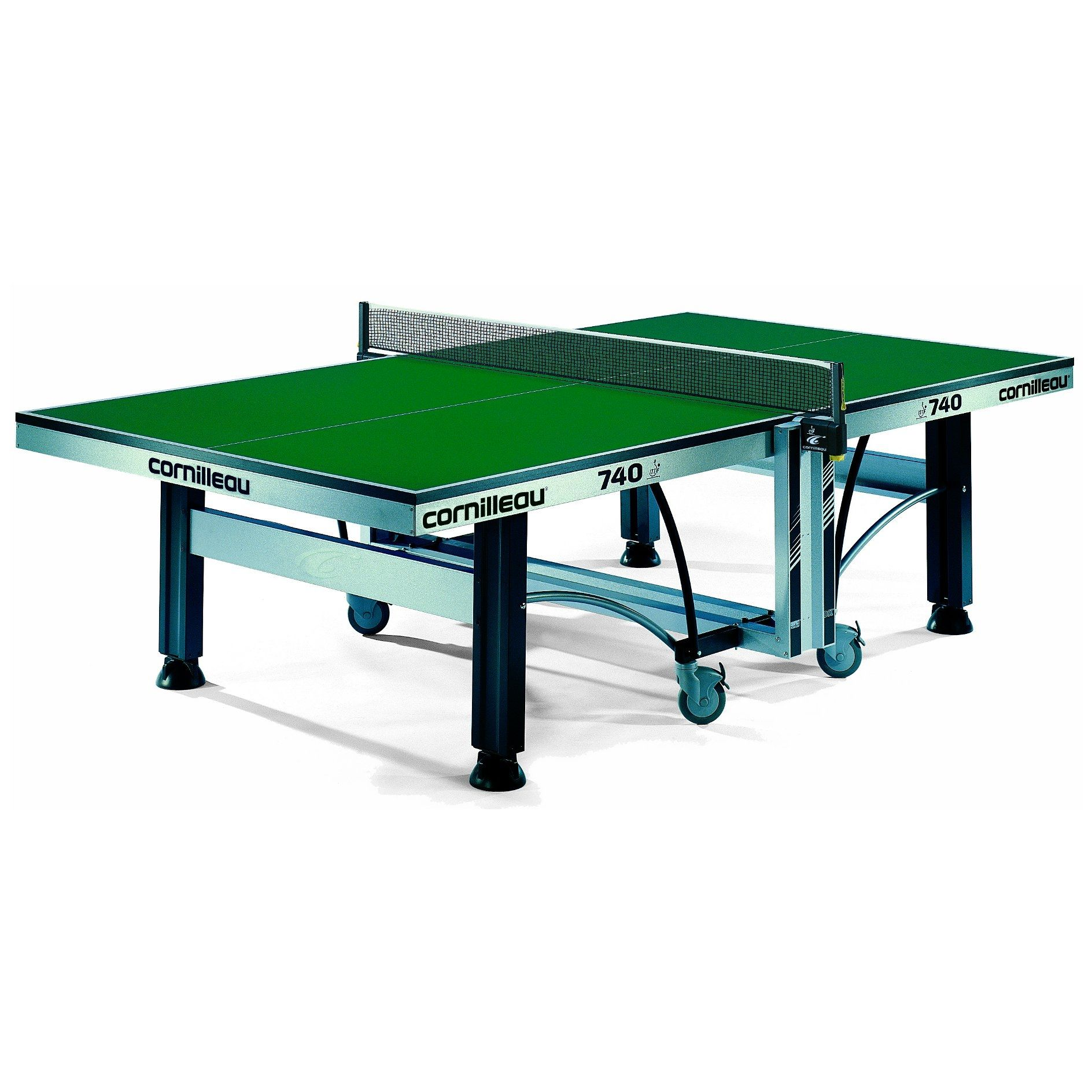 cornilleau ittf competition 740 rollaway table tennis table. Black Bedroom Furniture Sets. Home Design Ideas
