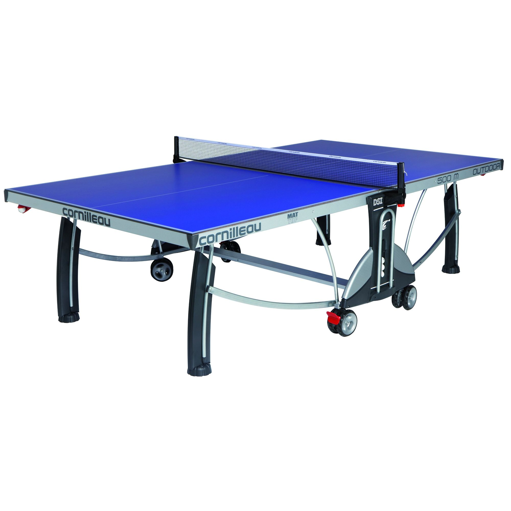 Cornilleau sport 500m rollaway 7mm outdoor table tennis table - Weatherproof table tennis table ...