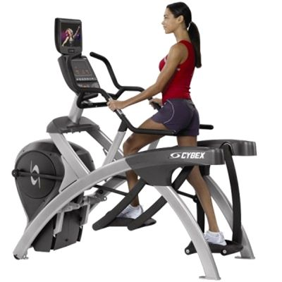 Cybex 750A Lower Body Arc Trainer with PEM In Use