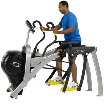 Cybex 750AT IFI Total Body Arc Trainer In Use