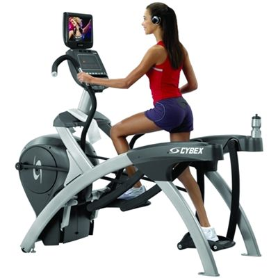 Cybex 750AT Total Body Arc Trainer with PEM In Use