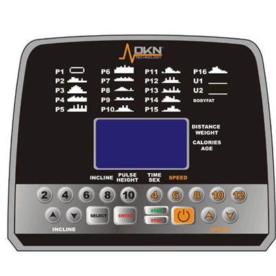 DKN T210 Treadmill Console