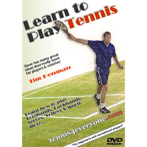 ITP Learn To Play Tennis DVD