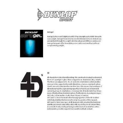 Dunlop Aerogel 4D Technology