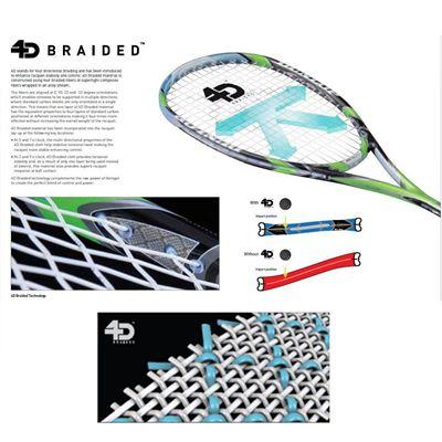Dunlop 4D Braided Technology