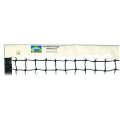 Edwards Matchplay Black 2.5mm Twisted Poly (quad stitched) Tennis Net