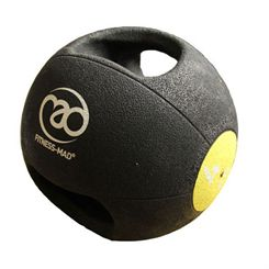Fitness Mad 4kg Double Grip Medicine Ball