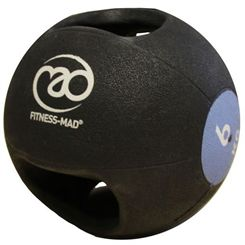 Fitness Mad 6kg Double Grip Medicine Ball