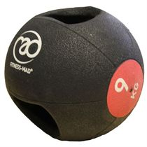 Fitness Mad 9kg Double Grip Medicine Ball