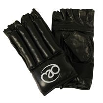 Boxing Mad Fingerless Leather Bag Mitt